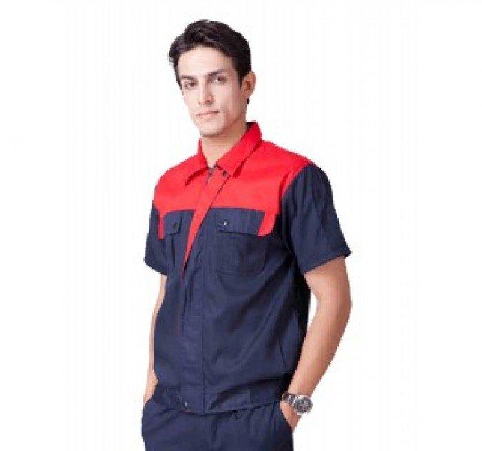 May đồng phục bảo hộ lao động giá rẻ