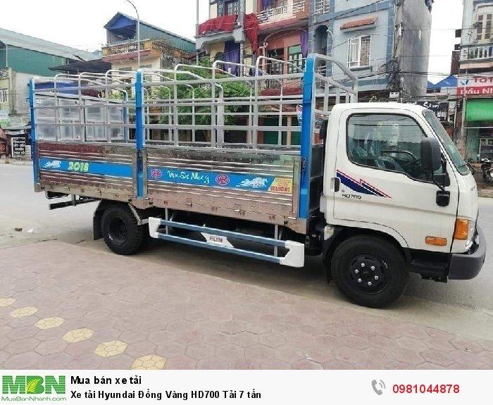 Xe tải Hyundai Đồng Vàng HD700 Tải 7 tấn 0