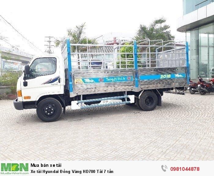 Xe tải Hyundai Đồng Vàng HD700 Tải 7 tấn