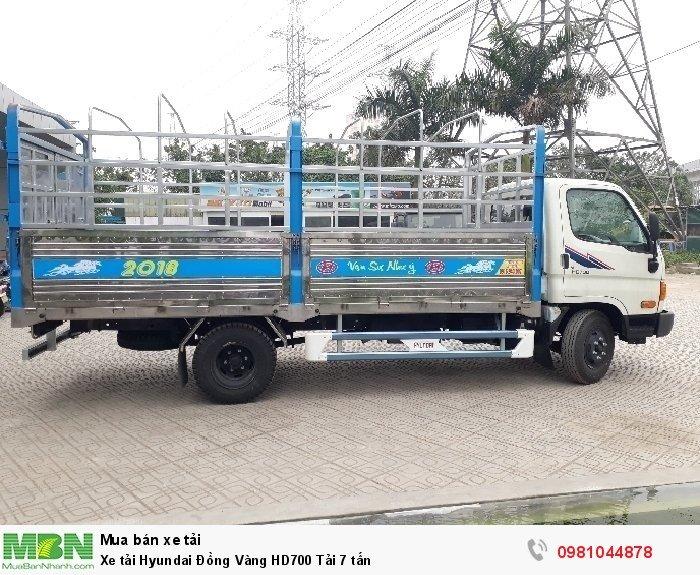 Xe tải Hyundai Đồng Vàng HD700 Tải 7 tấn 2