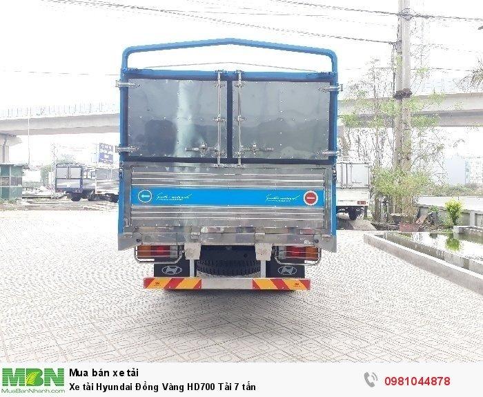 Xe tải Hyundai Đồng Vàng HD700 Tải 7 tấn 3