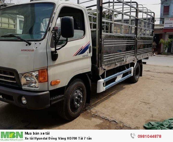 Xe tải Hyundai Đồng Vàng HD700 Tải 7 tấn 4