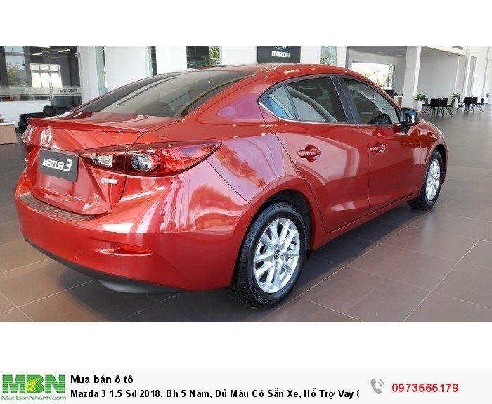 Mazda 3 1.5 Sd 2018, Bh 5 Năm, Đủ Màu Có Sẵn Xe, Hỗ Trợ Vay 85%