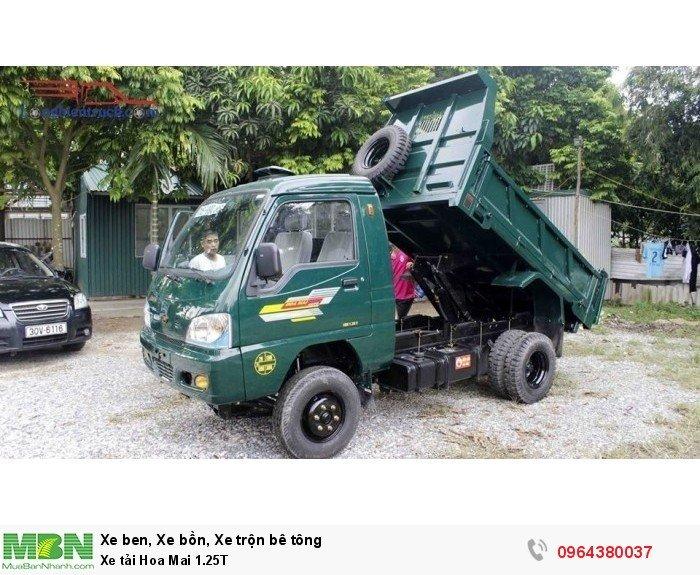 Xe tải Hoa Mai 1.25T