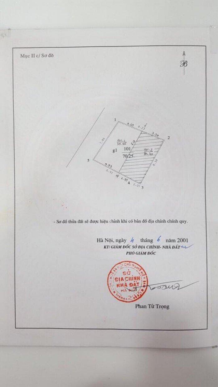 Bán Đất ngõ 592 Trường Chinh, Lô góc 2 mặt ngõ kinh doanh cực tốt, cách ngã tư sở 150m