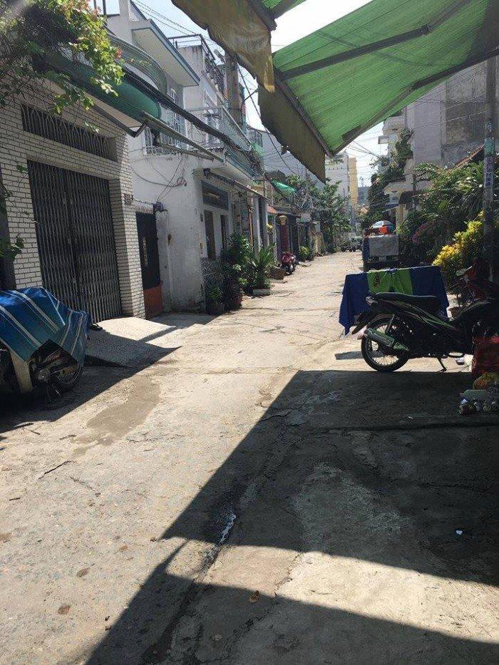 Bán nhà 5.35 Tỷ, hẻm 6m đường Văn Cao, P.Phú Thạnh, Q.Tân Phú