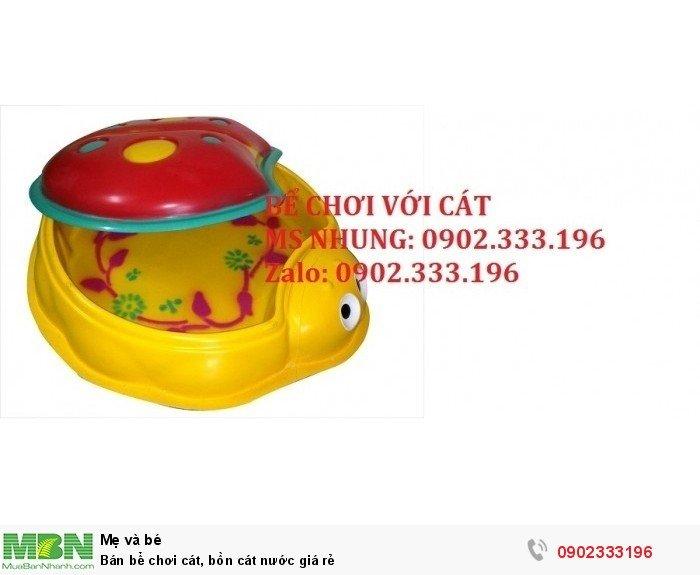 Bán bể chơi cát, bồn cát nước giá rẻ1