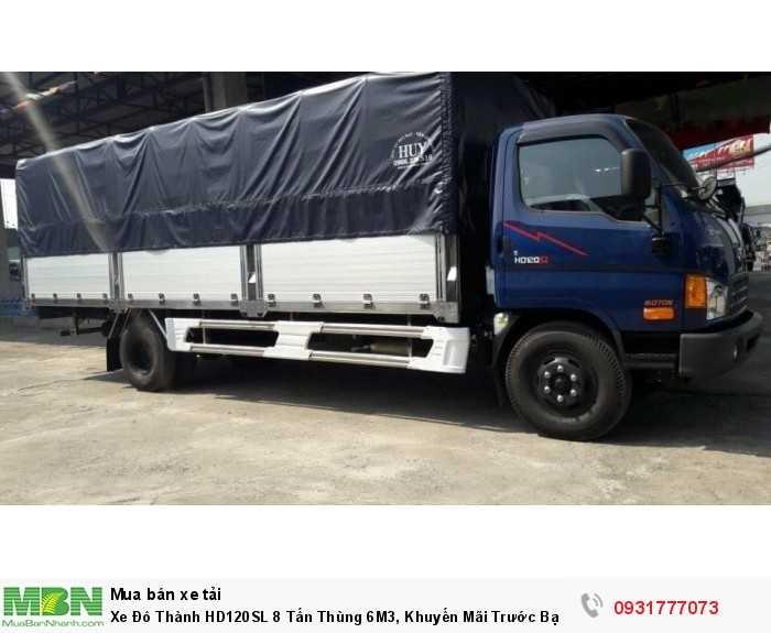 Xe Đô Thành HD120SL 8 Tấn Thùng 6M3, Khuyến Mãi Trước Bạ 100% 0