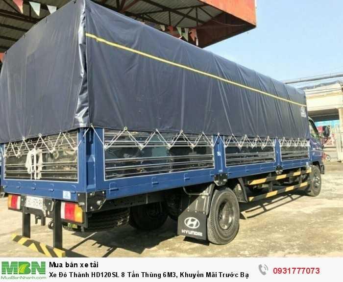 Xe Đô Thành HD120SL 8 Tấn Thùng 6M3, Khuyến Mãi Trước Bạ 100% 2