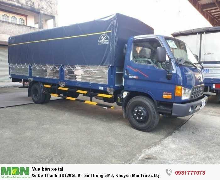 Xe Đô Thành HD120SL 8 Tấn Thùng 6M3, Khuyến Mãi Trước Bạ 100% 3