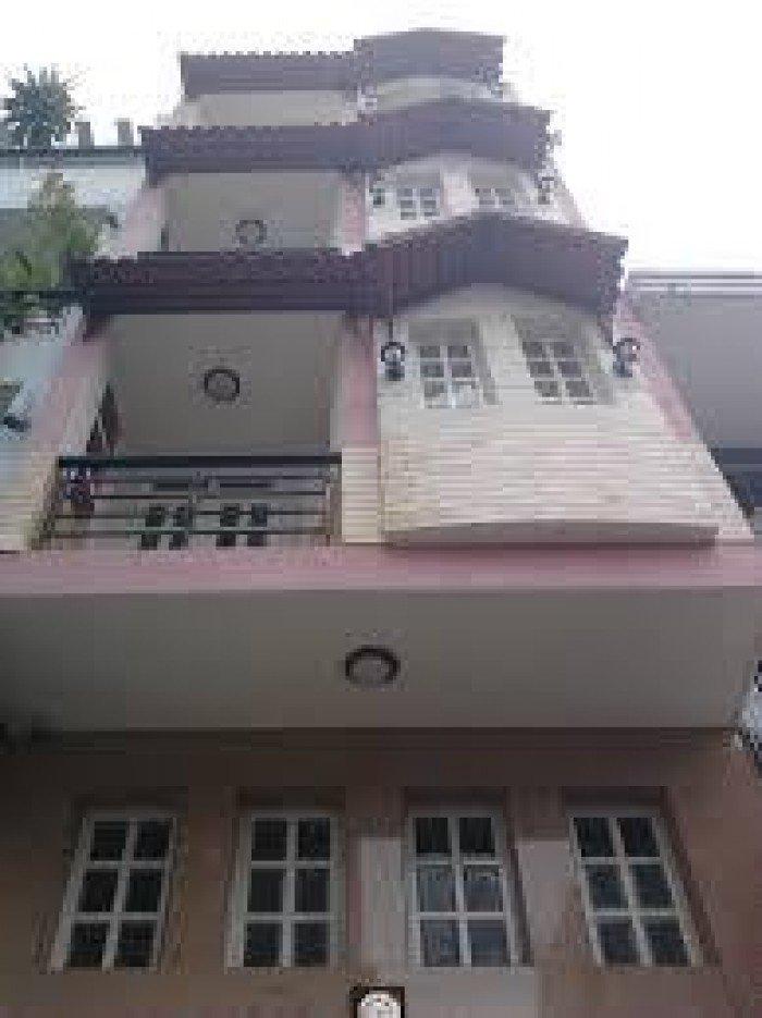 Bán gấp nhà HXH Hoàng Hoa Thám, 70 m2, 3 tầng, sổ hồng.