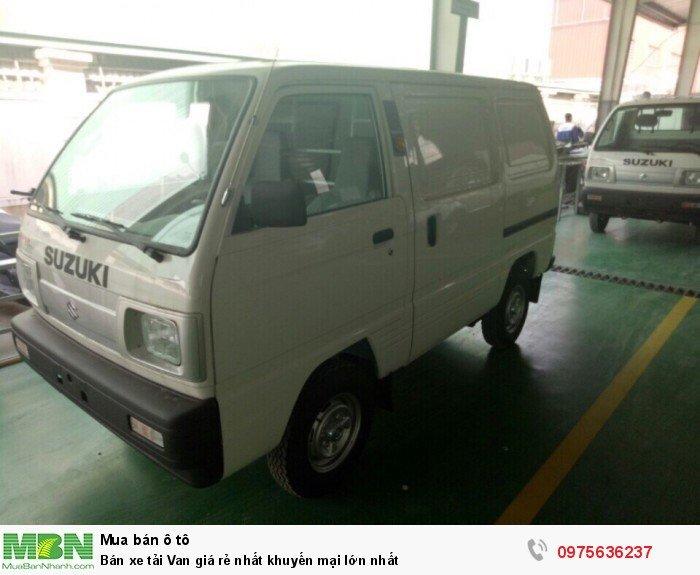 Bán xe tải Van giá rẻ nhất khuyến mại lớn nhất