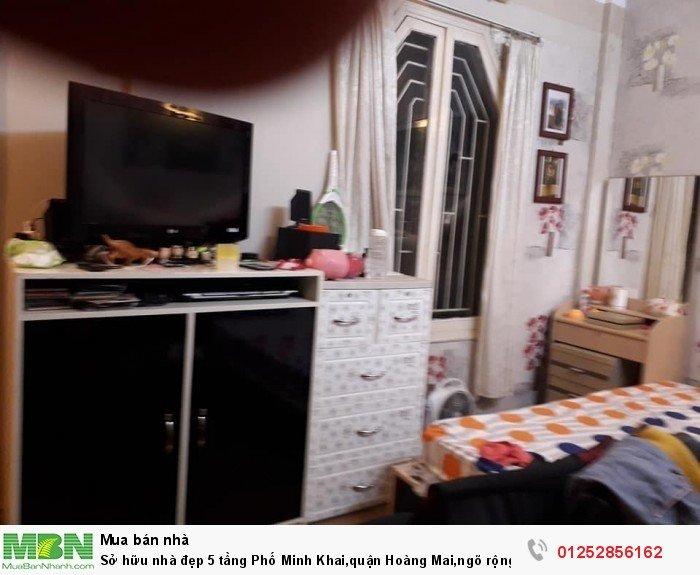 Sở hữu nhà đẹp 5 tầng Phố Minh Khai,quận Hoàng Mai,ngõ rộng,nhà rất có lộc