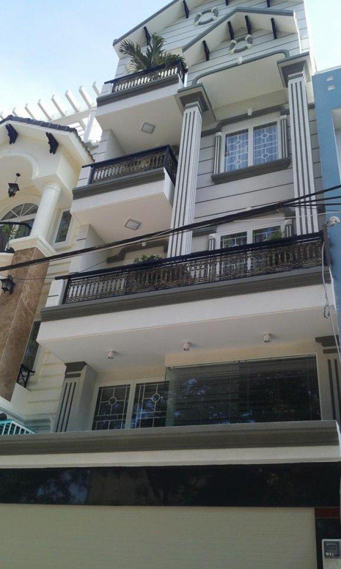 Cho thuê nhà góc 2MT Nguyễn Đình Chiểu, Quận 3, dt 4x14m