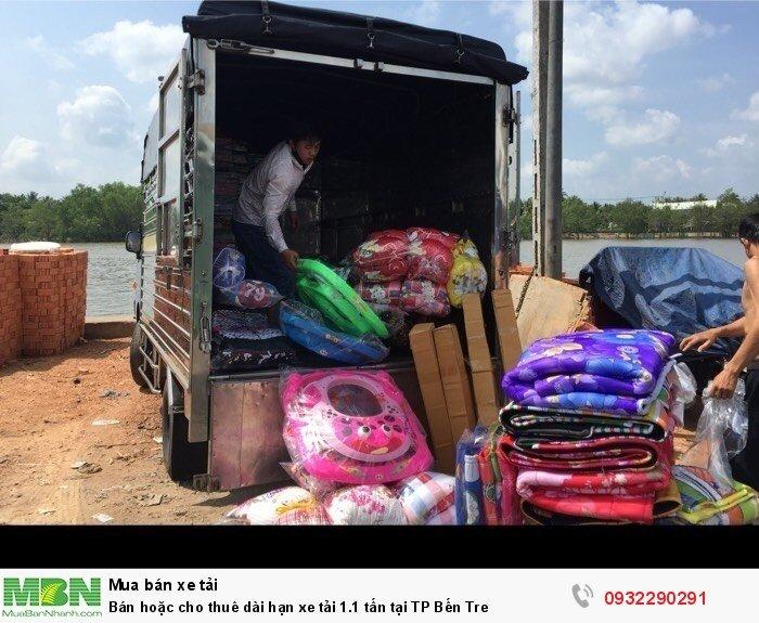 Bán hoặc cho thuê dài hạn xe tải 1.1 tấn tại TP Bến Tre