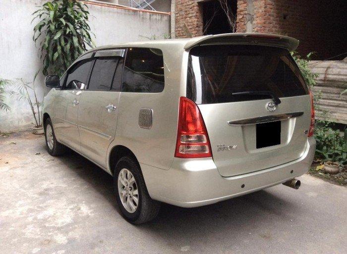 Toyota Innova sản xuất năm 2007 Số tay (số sàn) Động cơ Xăng
