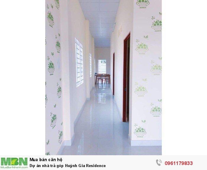 Dự án nhà trả góp Huỳnh Gia Residence