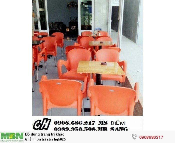 Ghế nhựa trà sữa hgh0251