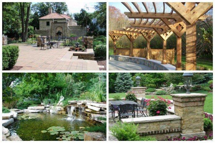 Thiết kế kiến trúc, nội thất, sân vườn