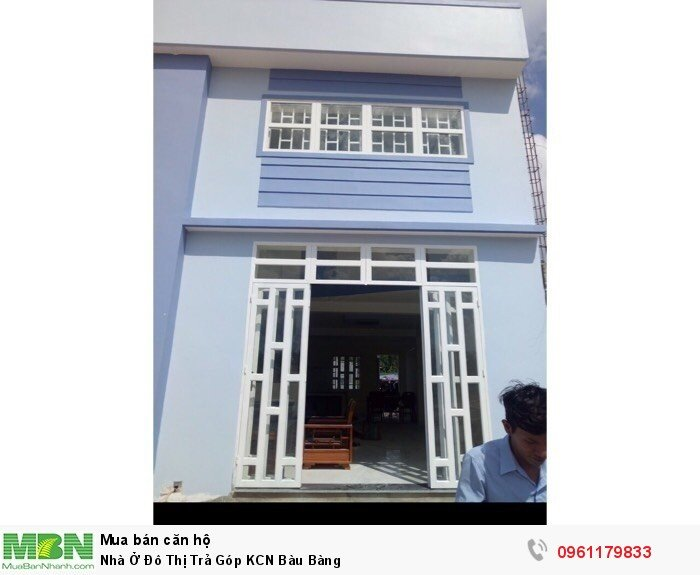 Nhà Ở Đô Thị Trả Góp KCN Bàu Bàng