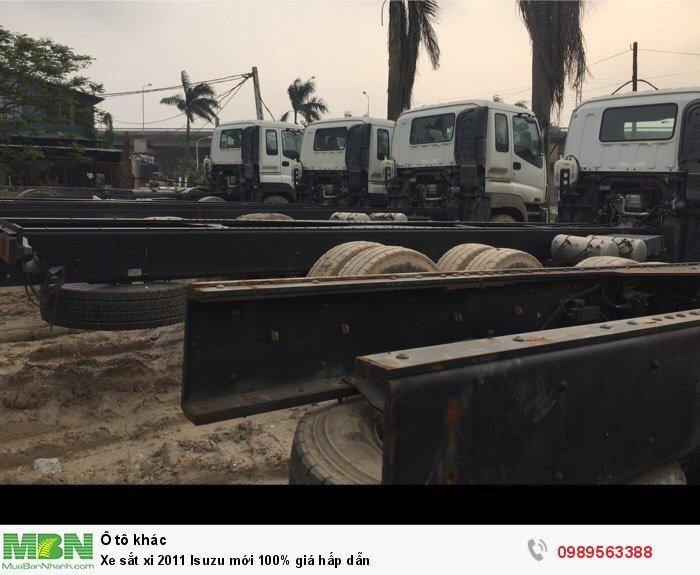 Xe sắt xi 2011 Isuzu mới 100% giá hấp dẫn