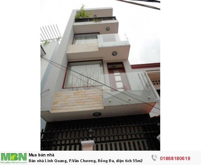 Bán nhà Linh Quang, P.Văn Chương, Đống Đa, diện tích 55m2