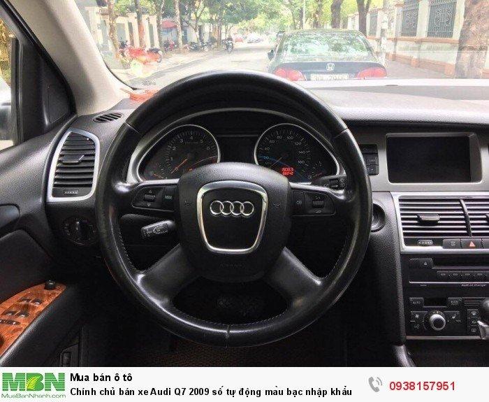 Chính chủ bán xe Audi Q7 2009 số tự động màu bạc nhập khẩu