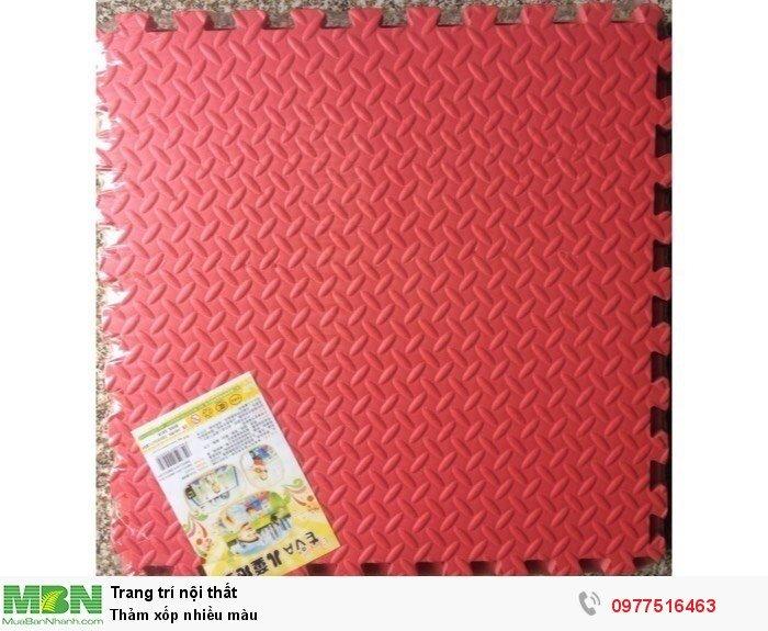 Thảm xốp nhiều màu
