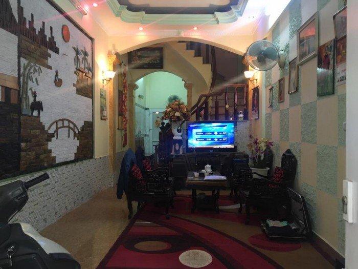 Cần bán gấp nhà Phân lô Nguyễn An Ninh 42m2x4 tầng, Mt đẹp