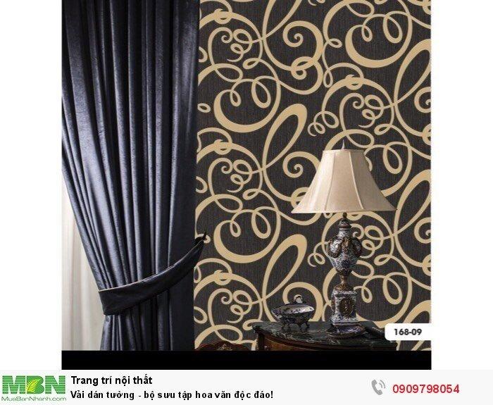 Vải dán tường - bộ sưu tập hoa văn độc đáo!