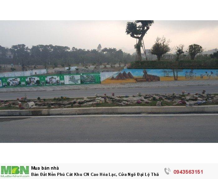 Bán Đất Nền Phú Cát Khu CN Cao Hòa Lạc, Cửa Ngõ Đại Lộ Thăng Long