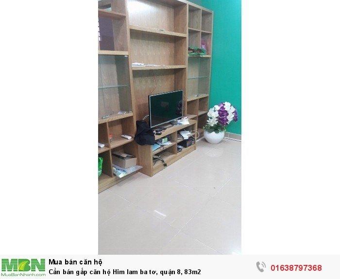 Cần bán gấp căn hộ Him lam ba tơ, quận 8, 83m2