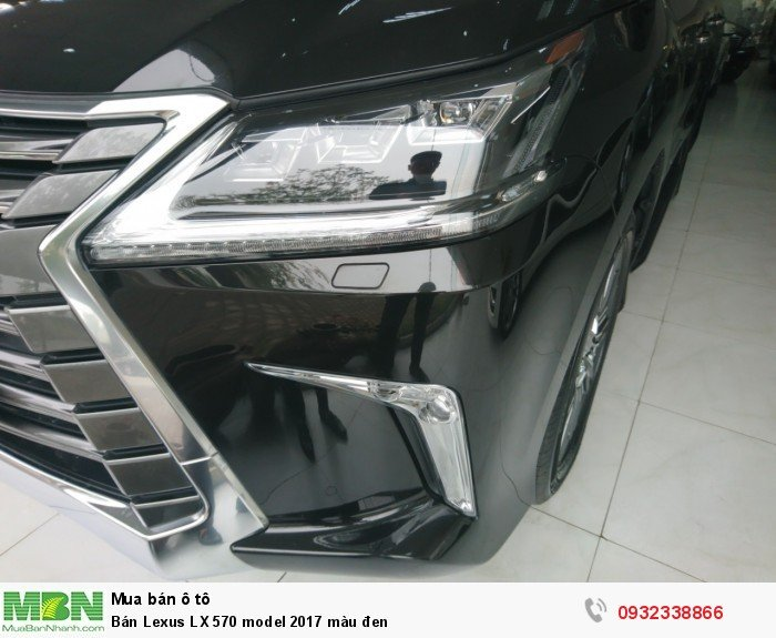 Lexus LX570 sản xuất năm 2017 Số tự động Động cơ Xăng