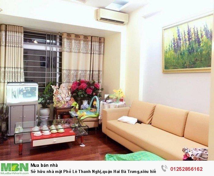 Sở hữu nhà mặt Phố Lê Thanh Nghị,quận Hai Bà Trưng,siêu hiếm,kinh doanh sầm uất