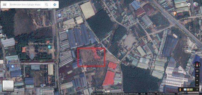 Bán nền đất 75m2 tai phường An Phú, Thị Xã Thuận An Tỉnh Bình Dương