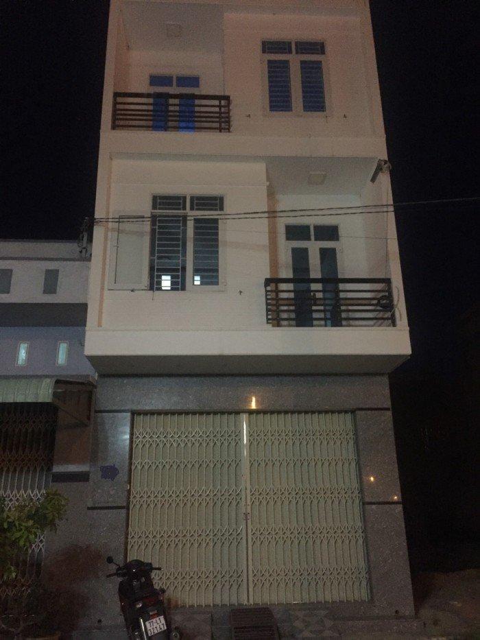Bán nhà 3 mê mới xây đường Lê Thanh Nghị Quy Nhơn 41,5tr/m2 dt(5x21)