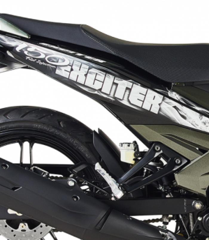 Xe máy Yamaha Exciter 150 xanh xám đen