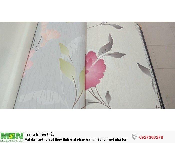 Vải dán tường sợi thủy tinh giải pháp trang trí cho ngôi nhà bạn