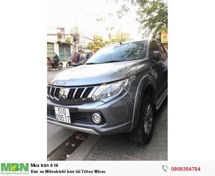 Bán xe Mitsubishi bán tải Triton Mivec 1