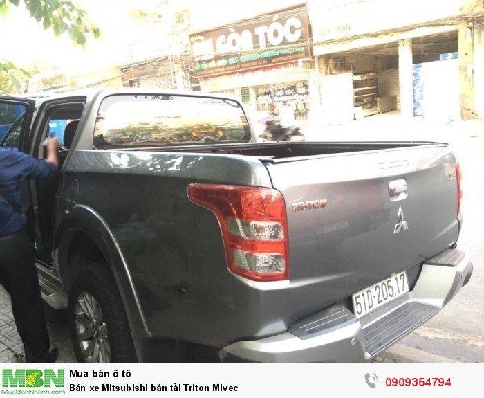 Bán xe Mitsubishi bán tải Triton Mivec 3