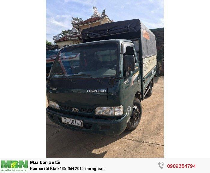 Bán xe tải Kia k165 đời 2015 thùng bạt