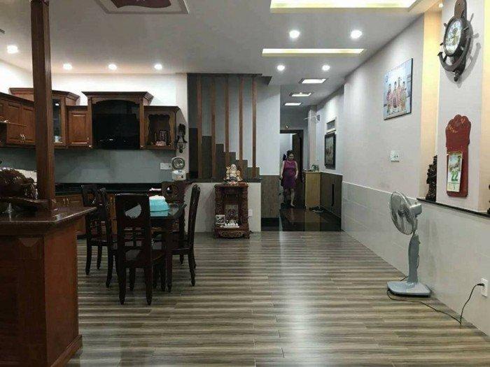 Nhà HXH Hoàng Văn Thụ, MT 6m, 120m2, 4T, giá sock