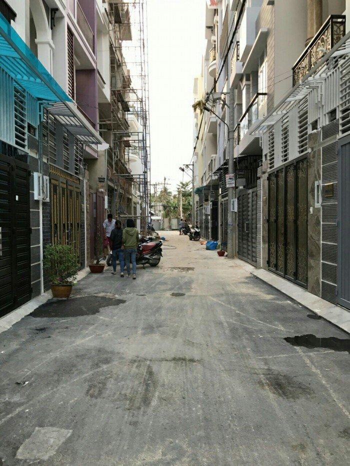Nhà 4 x 14m, 1 trệt, 3 lầu gần đường số 8, P. Hiệp Bình Phước, Q. Thủ Đức chiết khấu 5%