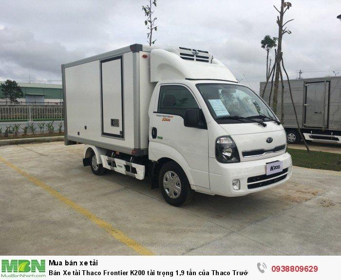 Bán Xe tải Thaco Frontier K200 tải trọng 1,9 tấn của Thaco Trường Hải 0