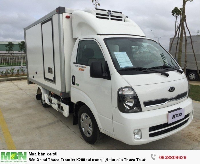 Bán Xe tải Thaco Frontier K200 tải trọng 1,9 tấn của Thaco Trường Hải 2
