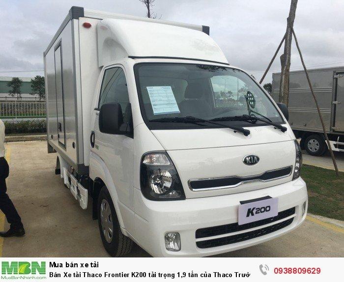 Bán Xe tải Thaco Frontier K200 tải trọng 1,9 tấn của Thaco Trường Hải 4