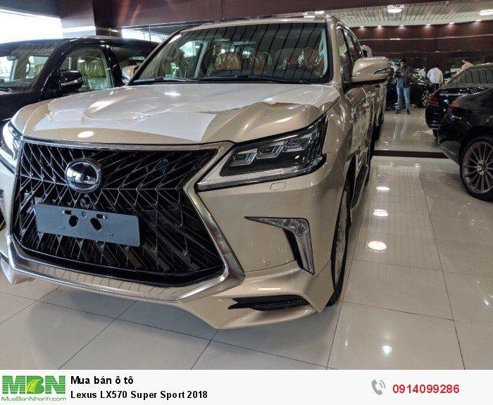 Lexus LX570 Super Sport 2018