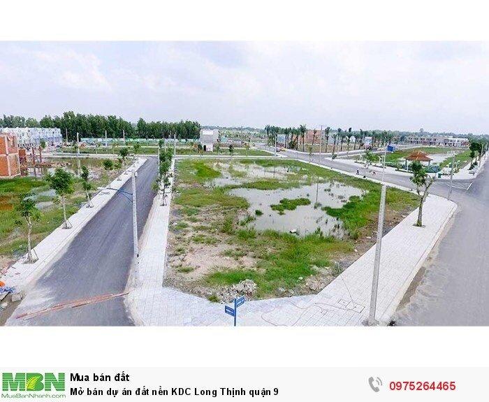 Mở bán dự án đất nền KDC Long Thịnh quận 9