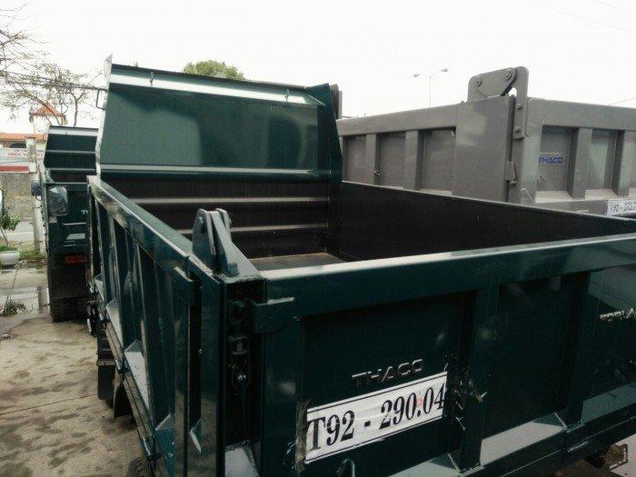 Xe ben 2,5 tấn , xe ben 2,5 tấn hải phòng. Hỗ trợ thanh toán nhanh chóng- dễ dàng