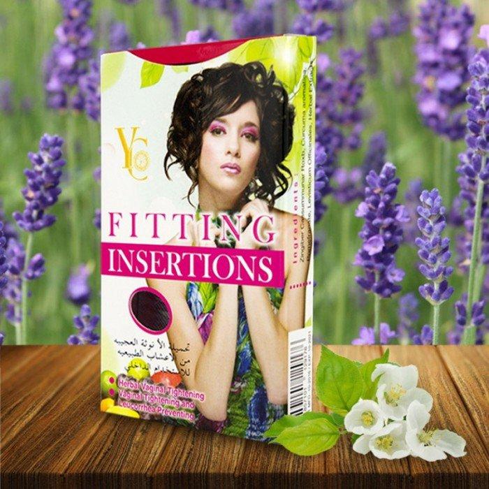 Fitting Insertions làm từ thảo dược thiên nhiên 100% giúp nữ giới giải quyết các vấn đề của cô bé